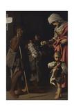 Charity (La Carità) Posters af Bartolomeo Schedoni