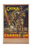 China Carries On Posters