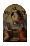 Assumption of the Virgin, Sts. John the Baptist and Catherine of Alexandria Art by Fra Bartolomeo