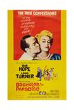 Bachelor in Paradise, from Left: Bob Hope, Lana Turner, 1961 Plakater