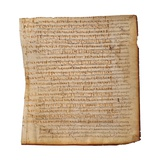 Manuscript with Ancient Fragments of Lucan, Pelagonio Prints