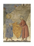 St. Francis's Gift of the Mantle Posters by  Giotto