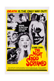 The Night God Screamed, Center: Jeanne Crain, 1971 Posters