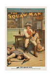 The Squaw Man, 1914 Prints