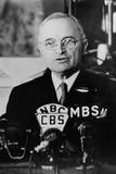 President Harry Truman Addressing a Joint Session of Congress in Washington, on April 16, 1945 Posters