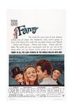 Fanny, from Left: Maurice Chevalier, Leslie Caron, Horst Buchholz, Charles Boyer, 1961 Poster