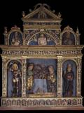 Altar Piece with Nativity Photo by Pietro Bussolo