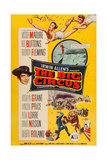 The Big Circus, Top Right: Kathryn Grant, David Nelson; Lower Left: Victor Mature, 1959 Prints