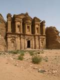 The Monastery' Is the Largest Building in Petra, Jordan Print