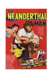 The Neanderthal Man, Robert Shayne (Top), 1953 Posters