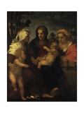 Madonna and Child with Saints Prints by Andrea del Sarto