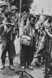 Two Captured Indonesian Army Soldiers, with Bandoliers around their Necks, 1947 Posters