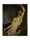 Saint Sebastian Kunst af Jusepe de Ribera