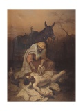 The Samaritan of the Gospel, 1851 Prints by Baldassarre Verazzi
