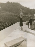 Monroe in Korea Performing Photographie