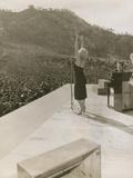 Monroe in Korea Performing Photo