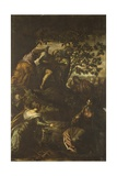 Raising of Lazarus Poster by Jacopo Robusti Tintoretto