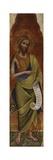 St. John the Baptist Kunstdrucke von Lorenzo Veneziano