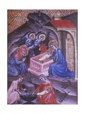 Adoration of the Magi Book of Hours of Mary from Navarra, 1340 Posters by Ferrer Bassa