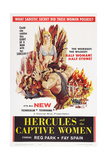 Hercules and the Captive Women, Center: Reg Park, 1961 Posters