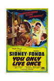 You Only Live Once, Left and Second Right: Henry Fonda; Second Left: Sylvia Sidney, 1937 Prints