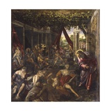 Christ Healing the Paralytic Posters by Jacopo Robusti Tintoretto