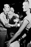 Repatriated Pow Capt. Frederick Smith Is Greeted by His Father on Sept. 14, 1953 Prints