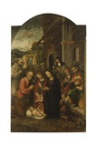 Nativity and Saints Prints by Bernardino Fasolo