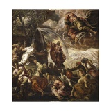 Moses Drawing Water from the Rock Posters by Jacopo Robusti Tintoretto