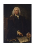 Portrait of Doctor Gian Pietro Pellegrini Prints by Alessandro Longhi