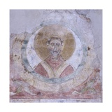 Head of a Saint in a Circle Posters