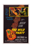 The Wild Party, Top, from Left: Carol Ohmart, Anthony Quinn, Kathryn Grant, 1956 Art