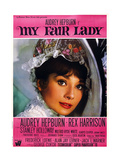 My Fair Lady, Audrey Hepburn, 1964 Poster