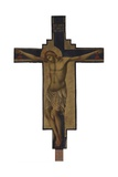 Crucified Christ Plakater af Paolo Veneziano