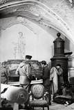 U.S. Army Mfaa Section with Furniture from Rothschild Paris Residences Looted by Germans Posters