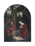 Nativity, 1540, Italy Kunst af Giovanni Girolamo Savoldo
