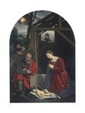 Nativity, 1540, Italy Art by Giovanni Girolamo Savoldo