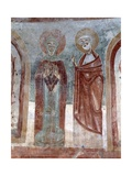 Virgin and Saint Peter, Ca. 11th C Poster