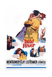 Wild River, Center: Lee Remick, Montgomery Clift, 1960 Print