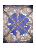 Ceiling Fresco in Torrechiara Castle Depicting Manor Locations Prints