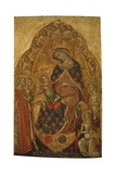 Mystical Marriage of Saint Catherine Prints by Lorenzo Veneziano