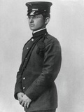 Harry Truman Wearing His Missouri National Guard Uniform, Ca. 1905 Photo
