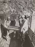 African American Ammunition Handlers Unloading Shells for the Battle of Brest in France Photo