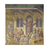 Apparition of St. Francis in the Chapter of Arles Posters by  Giotto