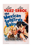 The Mexican Spitfire's Baby, from Left: Marion Martin, Leon Errol, Lupe Velez, 1941 Prints