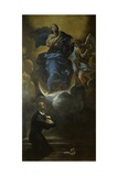 Immaculate Conception Giclee Print by Giovanni Lanfranco