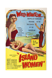 Island Women, from Left: Marilee Earle, Vince Edwards, Marie Windsor, 1958 Posters