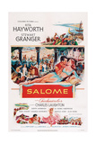 Salome, Face to Face from Left: Stewart Granger, Rita Hayworth, 1953 Giclee Print