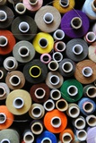 Colourful Reels of Thread Photo