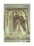 Visitation, 11th C. Church of Saint Salvatore, Casorezzo, Italy Prints